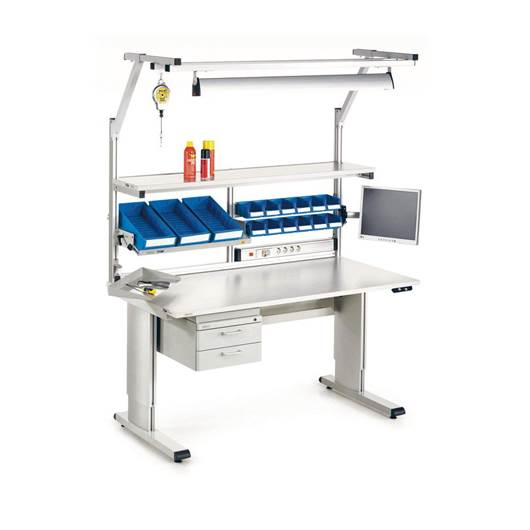 Picture of Adjustable Cantilever Workbenches