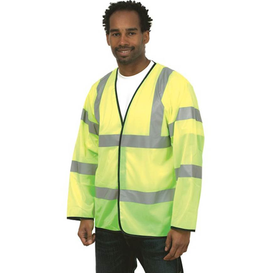 Picture of Hi-Visibility Long Sleeve Waistcoat