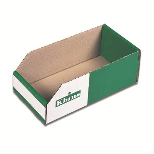 Picture of Kbins - Corrugated Cardboard Storage Bins (100mm High)