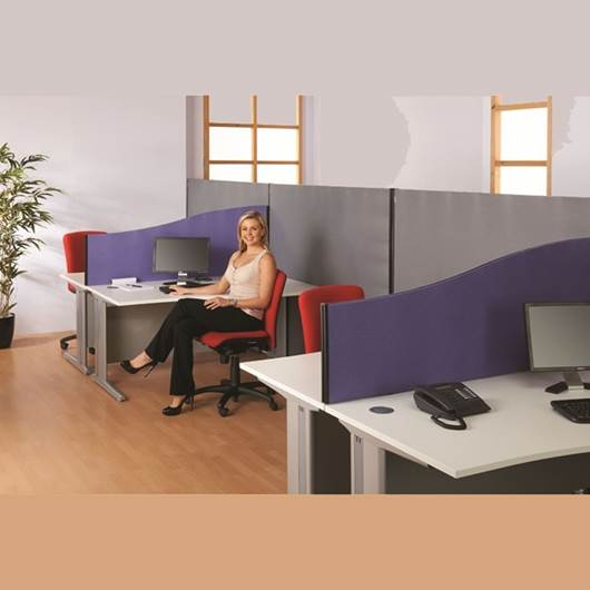 Picture of Busyscreen® Desk Screen Wall Linking Batten