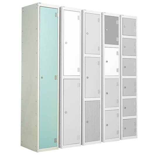 Picture of Single Tier Laminate Door Lockers