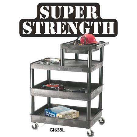 Picture for category Service Trolleys - Half Top Tray