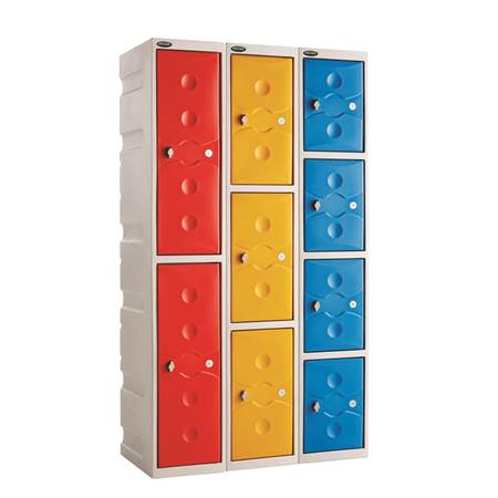 Picture for category Full Height Plastic Lockers