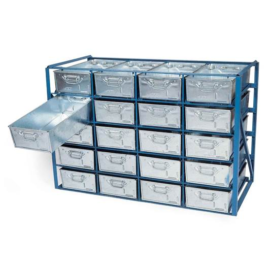 Picture of High Density Tote Pan Racks