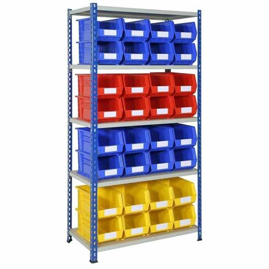 Picture of Plastic Bin Shelving