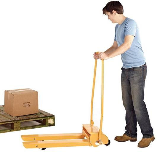 Picture of Mechanical Folding Pallet Truck