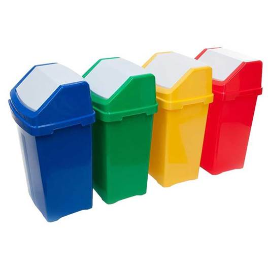 Picture of Flip Lid Bins