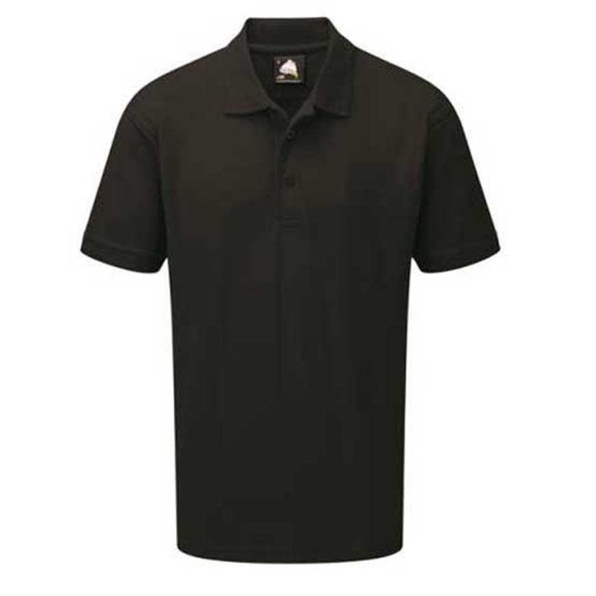 Picture of Mens Black Polo Shirt