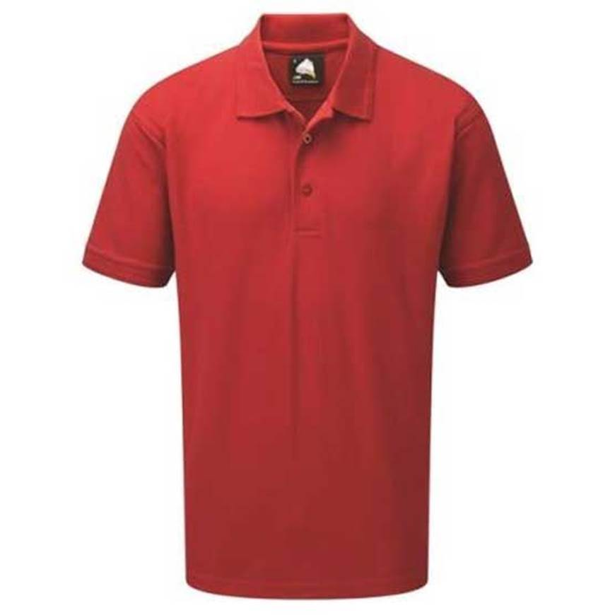 Picture of Mens Red Polo Shirt