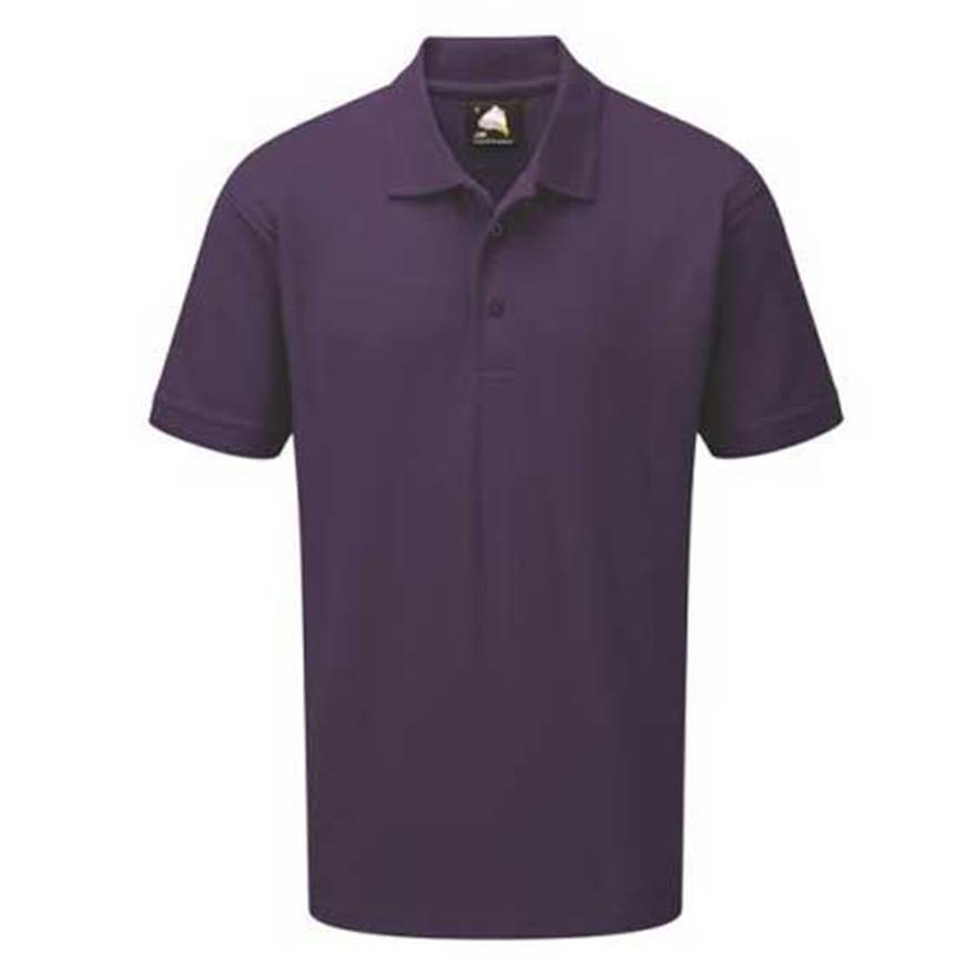Picture of Mens Purple Polo Shirt