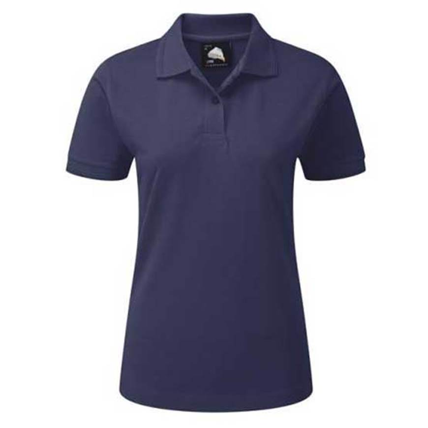 Picture of Womens Navy Polo Shirt