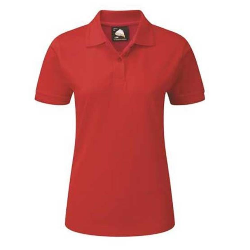 Picture of Womens Red Polo Shirt