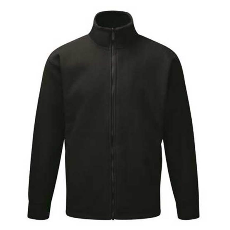 Picture of Mens Black Fleece Jacket