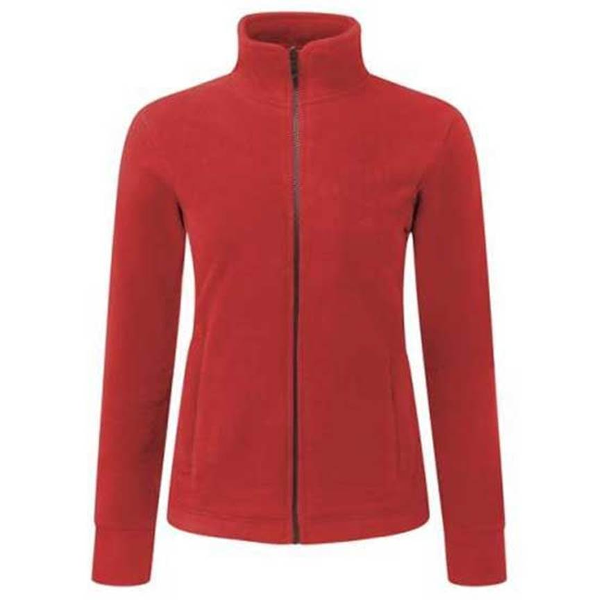 Picture of Womens Red Fleece Jacket