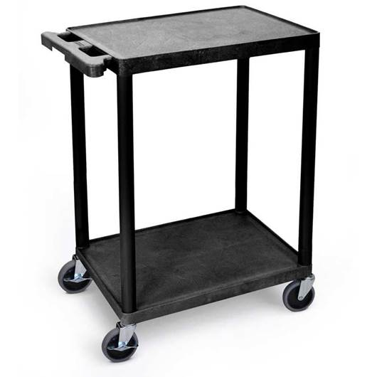 Picture of Plastic Multi-Purpose 2 Shelf Trolley