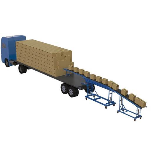 Picture of Container/Trailer Conveyor