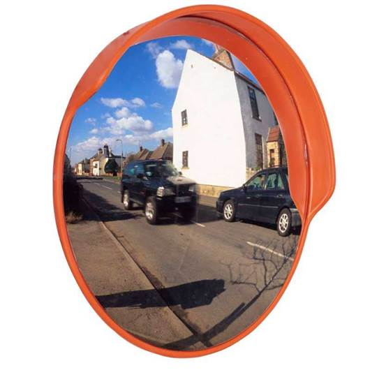 Picture of Traffic Mirror with Hoods