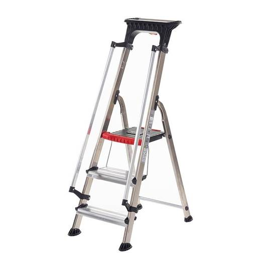 Picture of Double Decker Aluminium Stepladder with Handrails